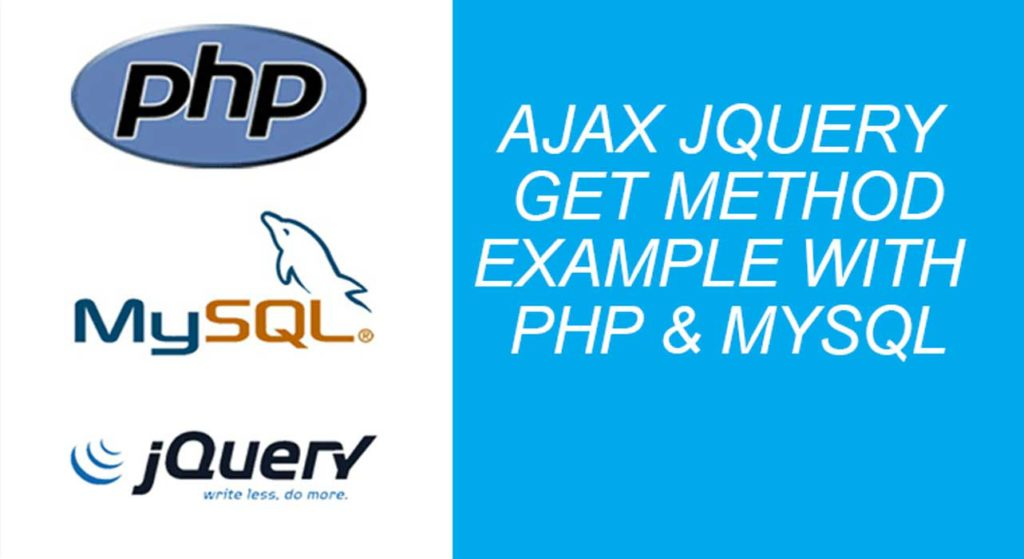 jquery ajax example with php mysql