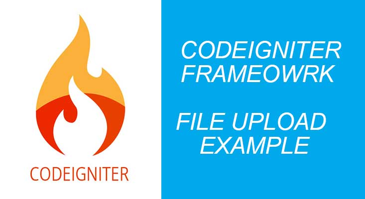 codeigniter file upload example