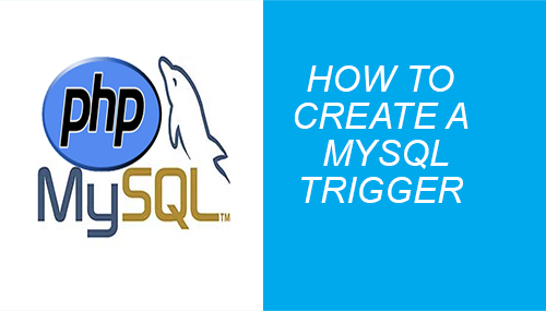 How to create a mysql trigger