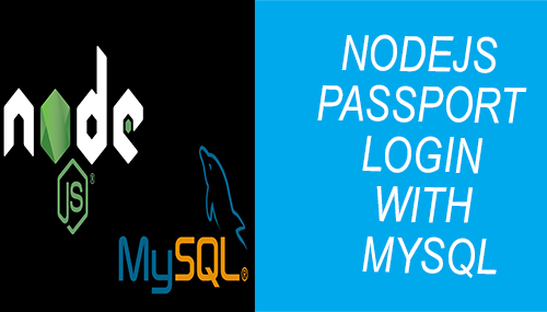 nodejs passport login