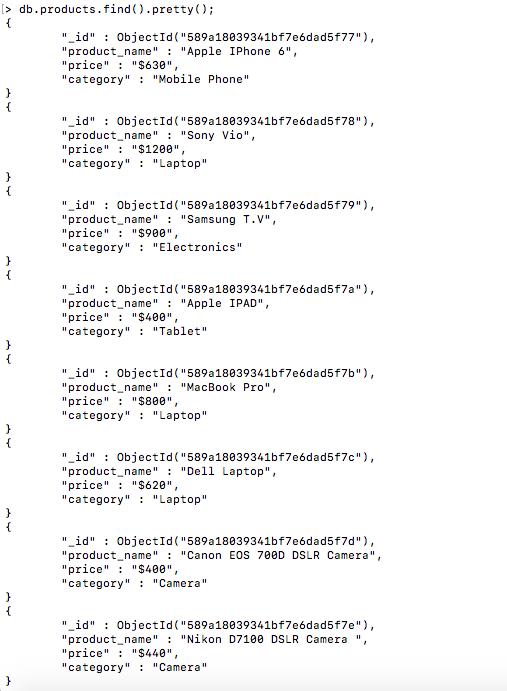 csv using nodejs and mongodb