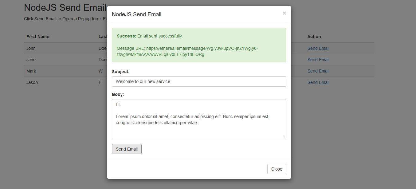 nodejs-send-email-sent-successfully