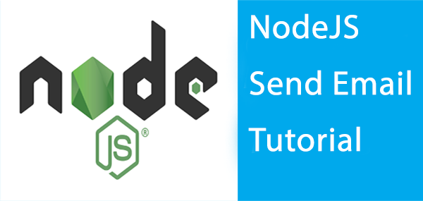 nodejs send email tutorial