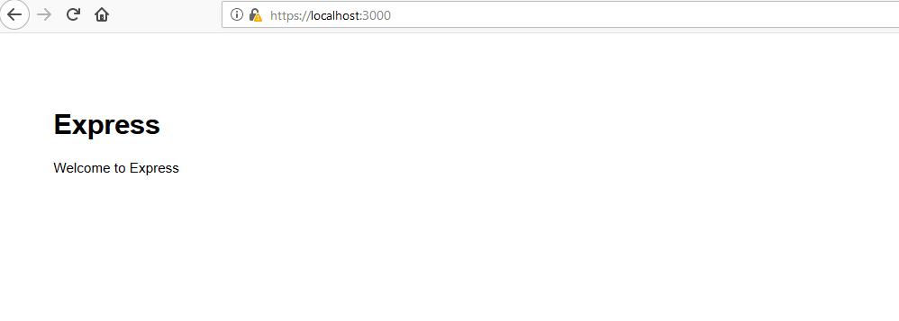 nodejs https server - success