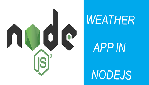 weather app in nodejs tutorial