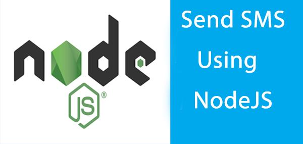 sedn sms using nodejs - main image