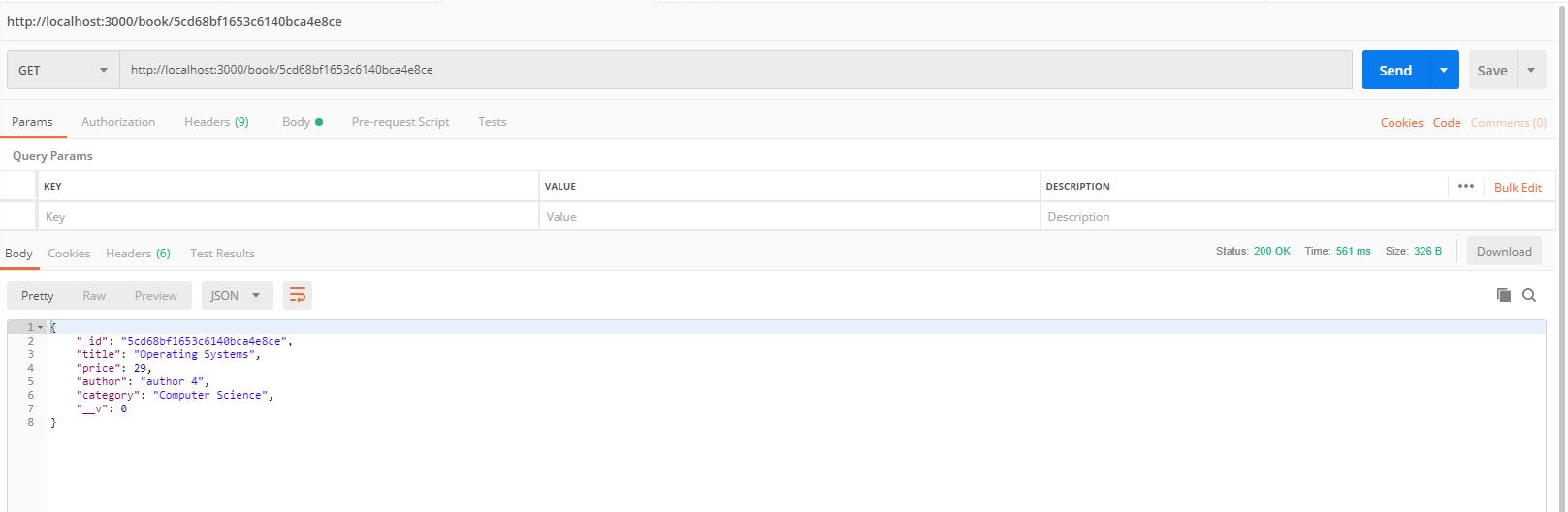 nodejs hapi framework tutorial - find a book