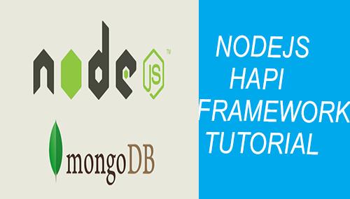 nodejs hapi framework tutorial