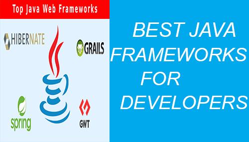 Java developers best MVC frameworks