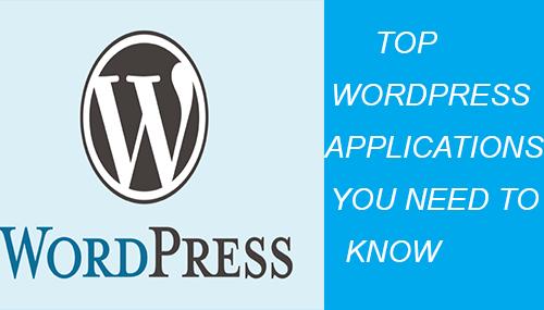 top wordpress applications